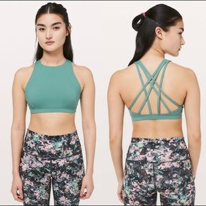 Lululemon free to be serene high neck bra